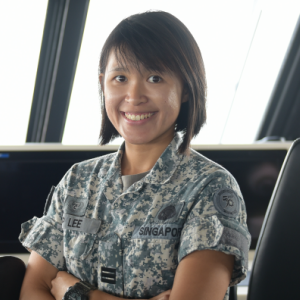 Captain (CPT) Lee Jia Pei