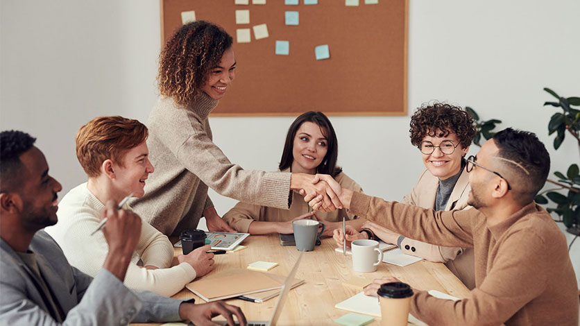 Building relationships in the office